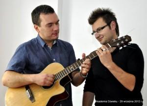 Akademia Dźwięku - dwaj z wielu nauczycieli